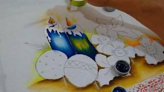 Pintura Motivos Natalinos, Parte 1