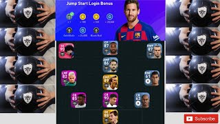 Opening Pack New Account Day 1 Login PES 2020 Mobile Got 9 Black Ball 8/1/20
