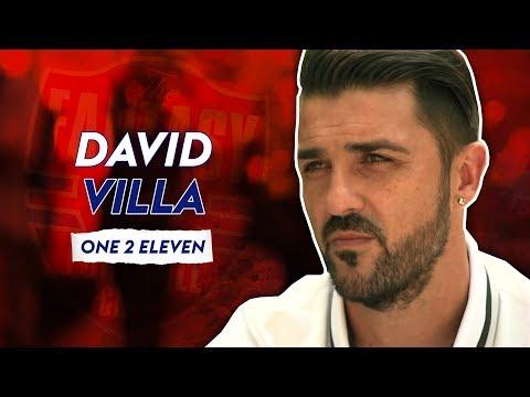 How many FC Barcelona players make Villa's team? | One 2 Eleven | David Villa