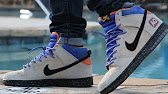 buy online 40b85 50e00 Nike Dunk High SB Acapulco Gold on foot overview - YouTube