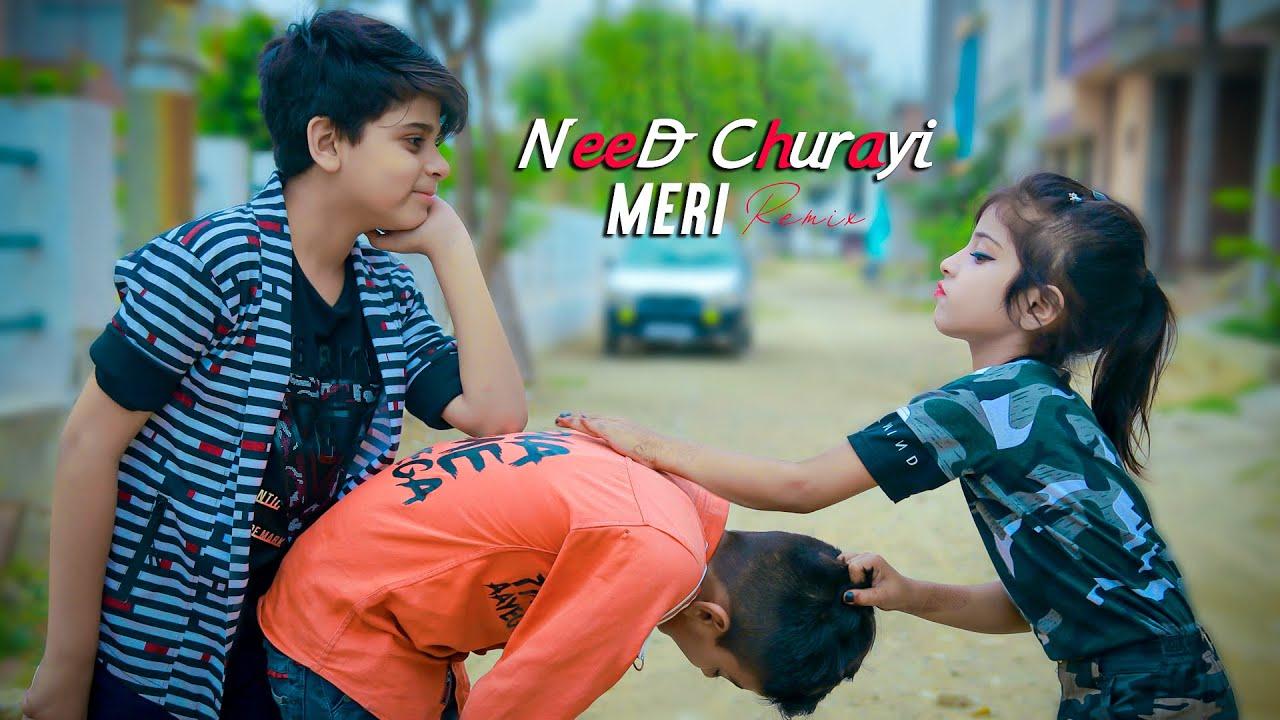 Download Neend Churai Meri  Funny Love Story Hindi Song   Cute Romantic Love Story SaifinaDareib  Meerut Star