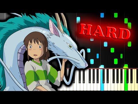 SPIRITED AWAY - THE DRAGON BOY - Piano Tutorial