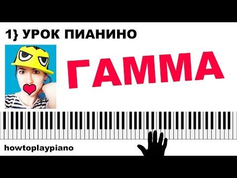 Урок с Вероникой. Свободное фортепиано. Часть 1/5