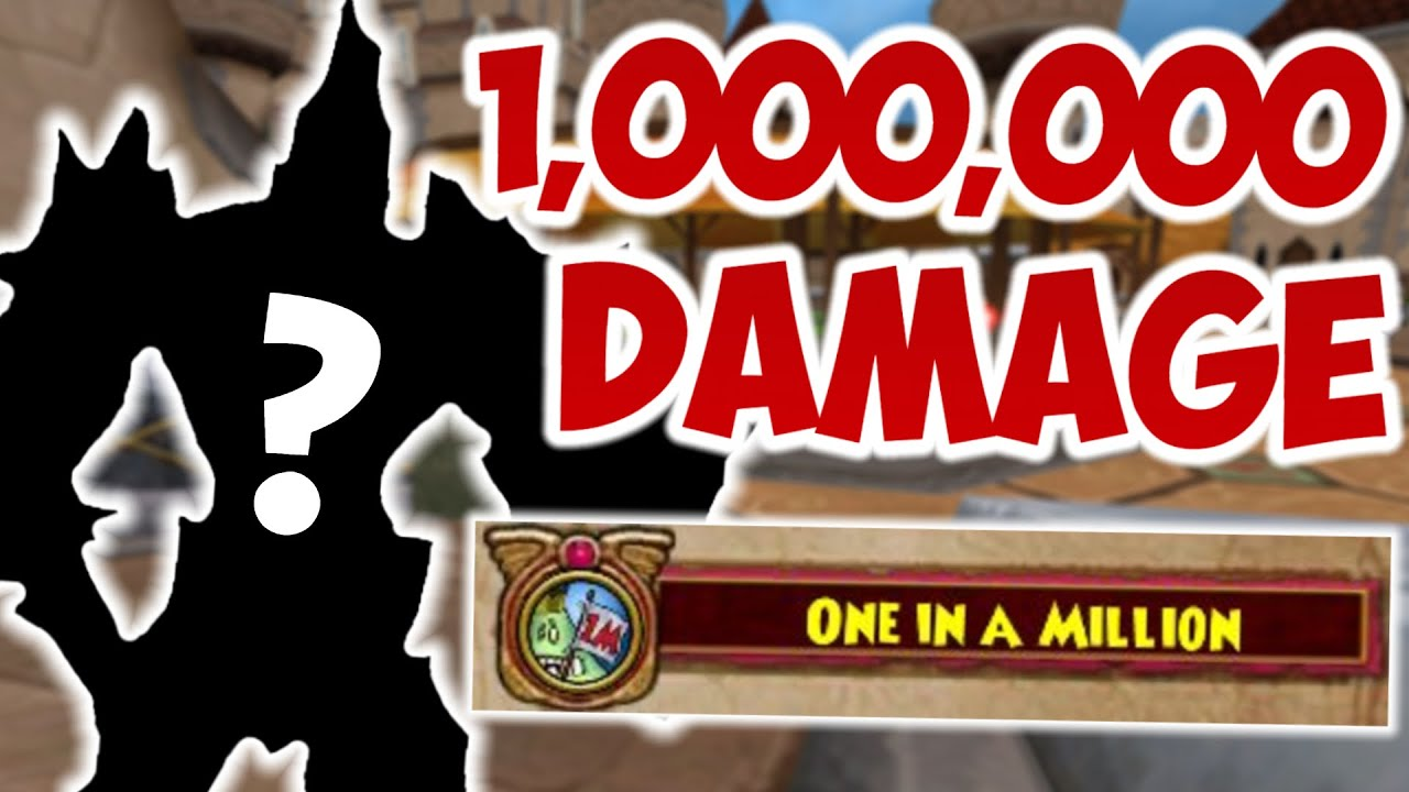 Can a minion hit 1 million damage in Wizard101?