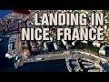EasyJet Stunning Landing at Nice Côte-d'Azur Airport, France-A320