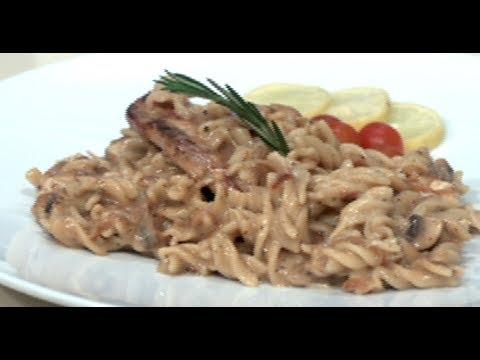 طريقة عمل صينية فريك باوراك الدجاج/ طريقة عمل مكرونه بالدجاج بالطريقة الفرنسية | غفران كيالي