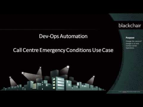 Dev Ops - Call Centre Emergency Conditions