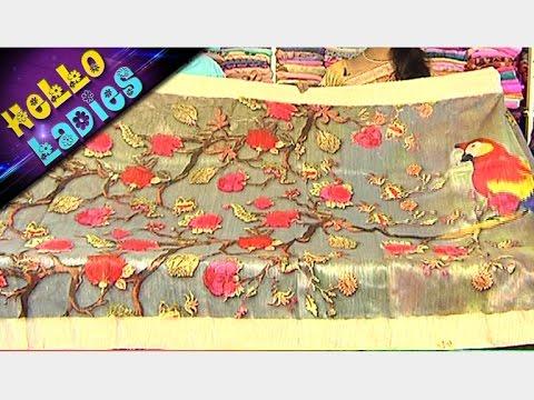 Digital Printed Antique Zari Cora Pattu & Pure Printed Lenin Sarees || Hello Ladies
