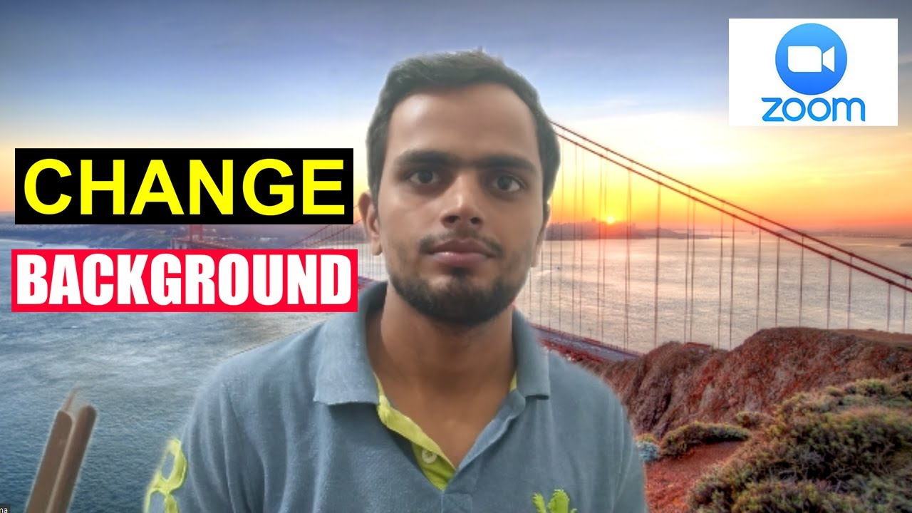How To Change Background In Zoom Zoom Virtual Background Youtube