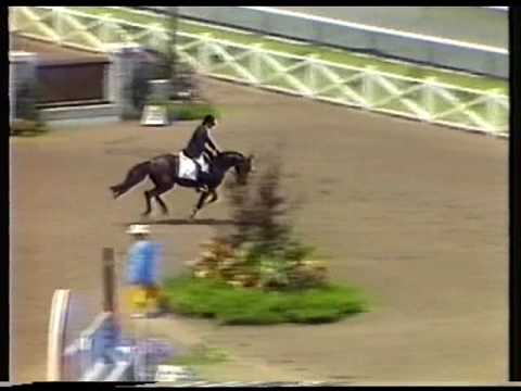 Ellen Whitaker & Ladina B, Puissance, Olympia, London 2009 from YouTube · Duration:  1 minutes 8 seconds