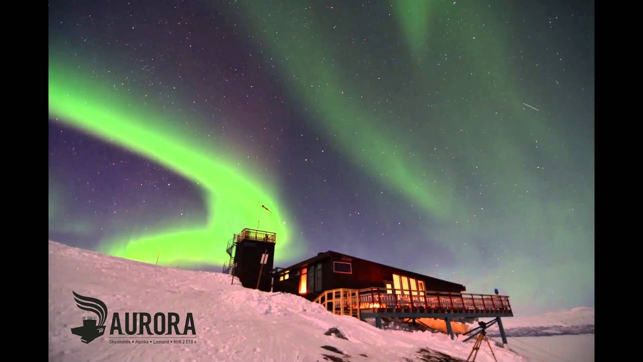 Best Hd Live Wallpaper Aurora Sky Station Abisko Sweden Youtube