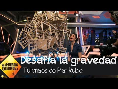 Pilar Rubio desafía la gravedad con 40 sillas en equilibrio - El Hormiguero 3.0