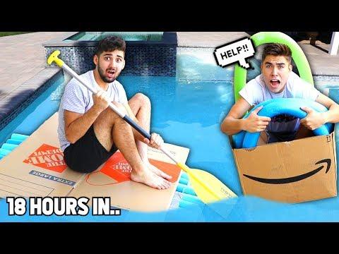 Last To Sink.. (CARDBOARD Boat Edition) - Challenge