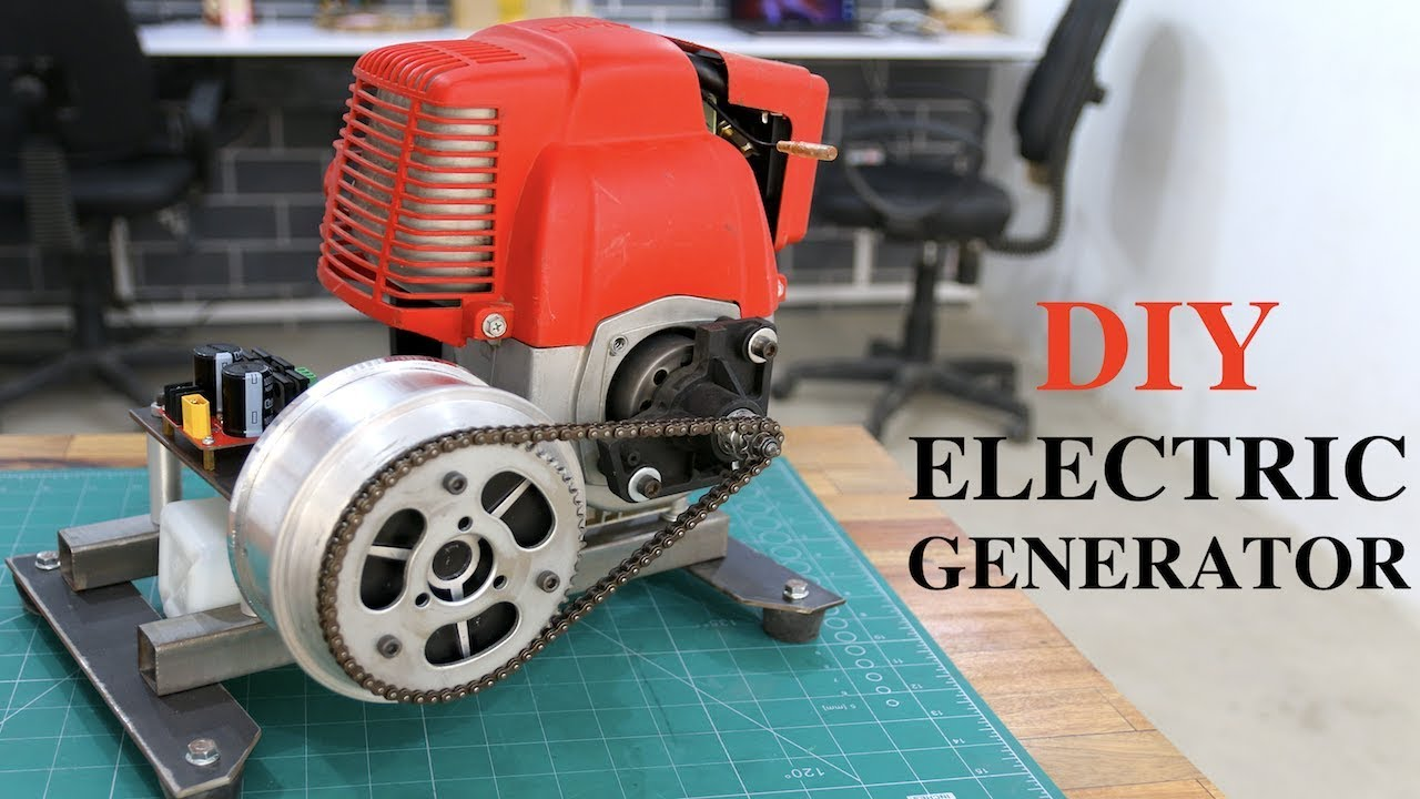 How to make a Small Electric Generator