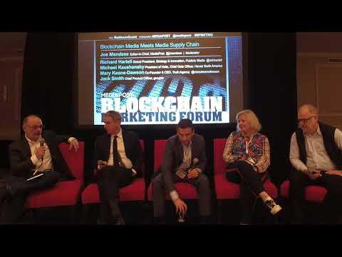 Blockchain Meets Media Supply Chain - Blockchain Marketing Forum