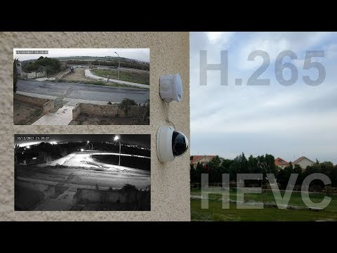Testing a WGCC 1440p PoE outdoor IP camera with H 265