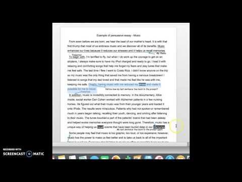 AP Argumentative Essay Rubric Explanation