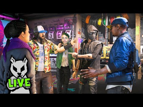 WATCH DOGS 2 PLAYING WITH SUBSCRIBERS | Watch Dogs 2 Live Stream