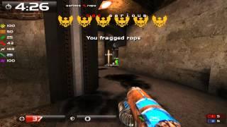 Quake Live: Serious playing 4v4 CA