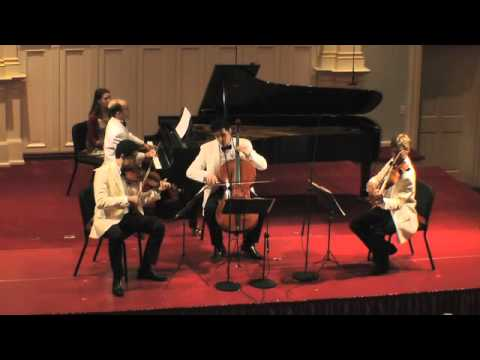 BCMF Brahms Piano Quartet in C minor, Op. 60 (Scherzo)