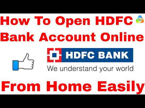 [HINDI]How To Open HDFC Bank Account Online