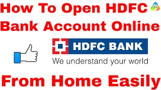 hindi how to open hdfc bank account online