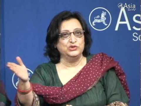Pakistani Poet Fahmida Riaz Recites