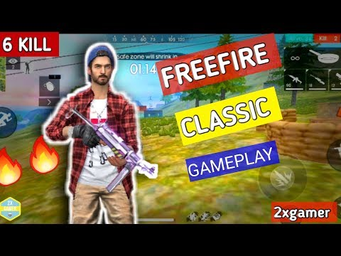 FREEFIRE NEW UPDATE CLASSIC MATCH SQUAD |#2XGAMER LIVE GARINA FREEFIRE GAMEPLAY IN INDIA | 2XGAMER