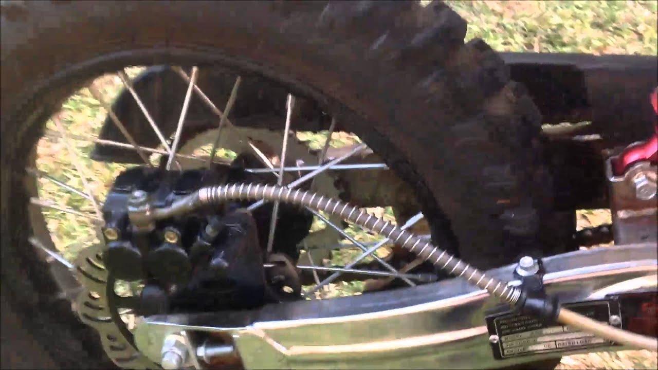 Dirt Bike Overview Tmx 150
