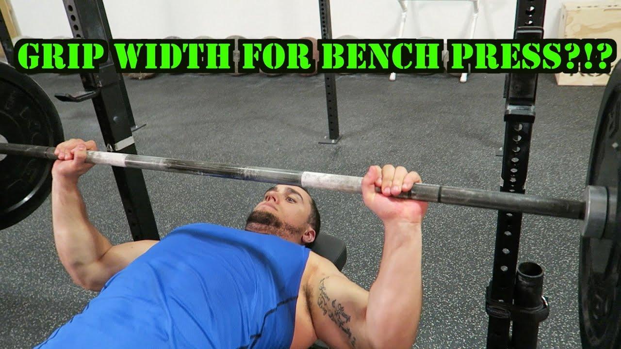 Determining Your Bench Press Grip Width