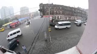 На Днепропетровск обрушился ливень с грозой 19.06.2015