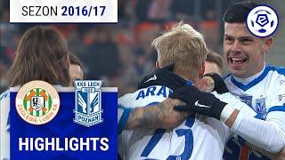 Zagłębie Lubin - Lech Poznań 0:3 [skrót] sezon 2016/17 kolejka 17