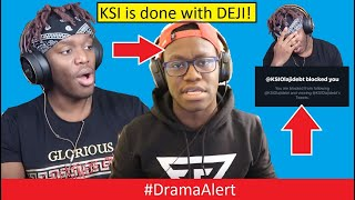 One of DramaAlert's most viewed videos: KSI kicked DEJI out of his LIFE! #DramaAlert EXPLANATION of KSI vs DEJI (FOOTAGE)