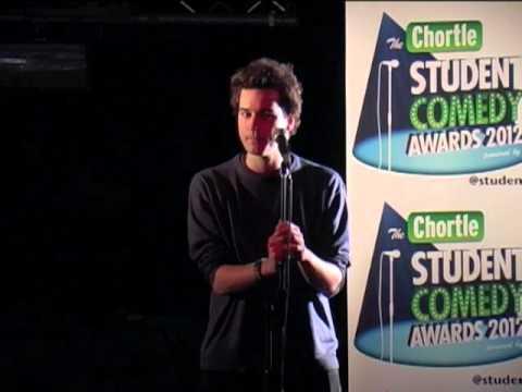 Dan Nicholas - Chortle Student Comedy Award 2012