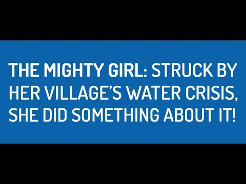 Watch how this girl solved her village's dire water crisis
