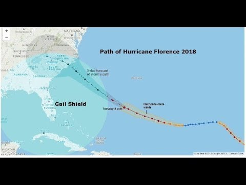 Gail Shield versus Hurricane Florence