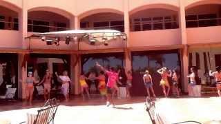 Урок танца живота в Египте, Хургада. Аниматор Tika