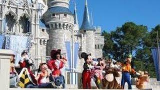 Привет в ЯРОСЛАВЛЬ Disney Magic Kingdom Orlando Florida  25.01.2014