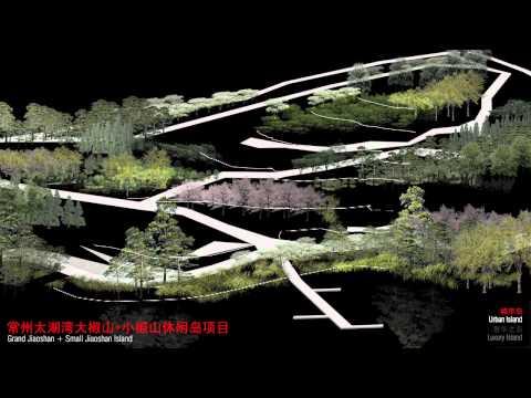 Jiaoshan Island Masterplan