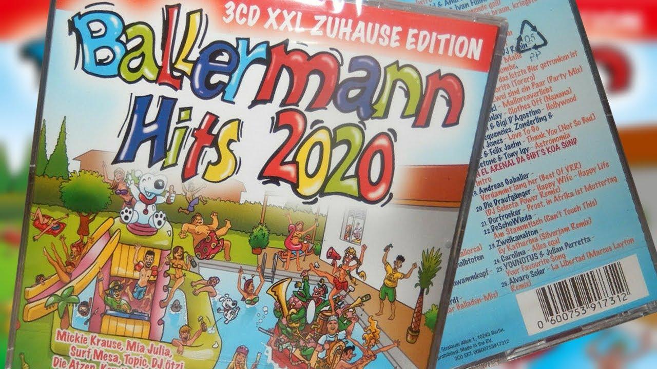 BALLERMANN PARTY HITS 2020 (XXL ZUHAUSE EDITION) BRANDNEU