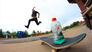 ULTIMATE SKATEBOARD BOTTLE FLIPPING
