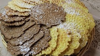 How To Make Pizzelles! Three Different Flavors! Happy New Year!