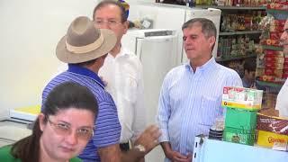 Dep Danilo Forte com o General Theófilo em visita a Limoeiro do Norte