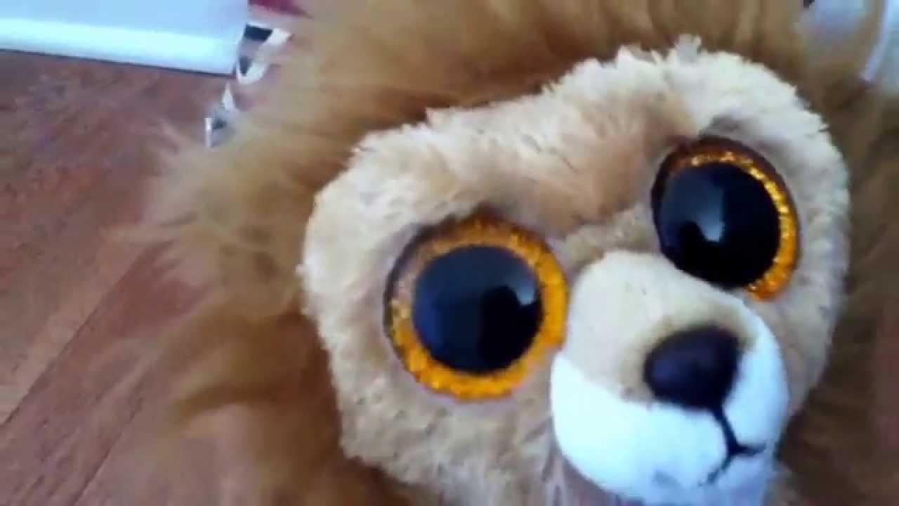 0b984de60ab Ty Beanie Baby Union Jack Lion plushie! - YouTube