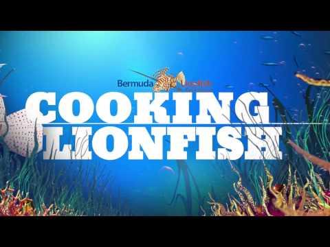Lionfish Cooking in Bermuda