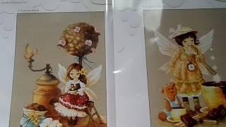 """Обзор набора """"Кофейная фея"""" от Luca-S"""