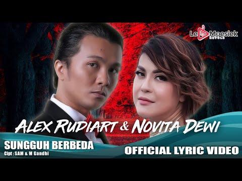 Alex Rudiart dan Novita Dewi - Sungguh Berbeda (Official Lyric Video)