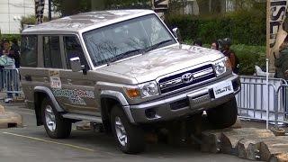 2015 Toyota Land Cruiser 70 Demo Ride