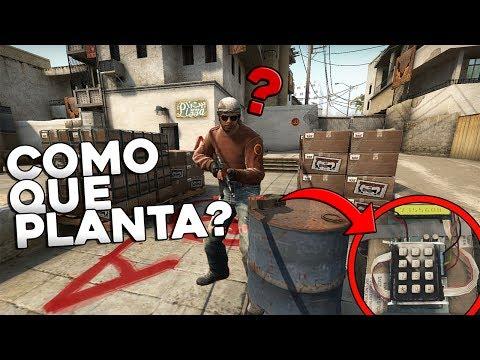 FINGINDO QUE A BOMBA BUGOU NO COMP - CS:GO