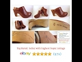 CORSO COMO Clogs Mules Brown Leather Sz 7.5 Womens Shoes  |